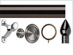Galleria 50mm Metal Curtain Pole Accessories