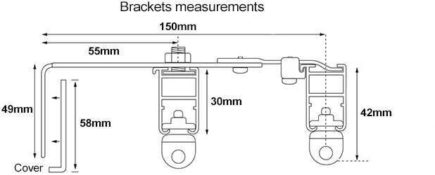 Cameron Fuller Double Bracket Measurements