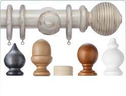 Cameron Fuller 50mm wooden curtain poles