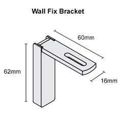 Metropole Wall Fix Brackets
