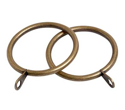 Speedy Pristine Curtain Rings for 28mm Curtain Poles (8 per pack)