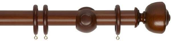 Museum Asher 35mm Wood Curtain Pole