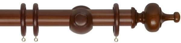 Museum Boudoir 35mm Wooden Curtain Pole