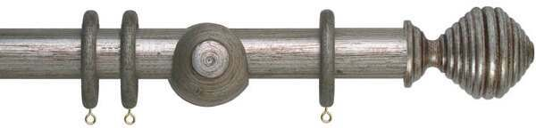 Museum Dune 35mm Wood Curtain Pole