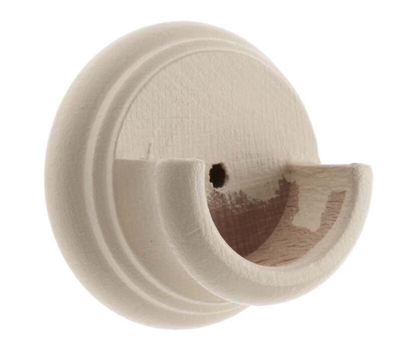 Cameron Fuller Wooden Recess Bracket for 35mm Curtain Poles