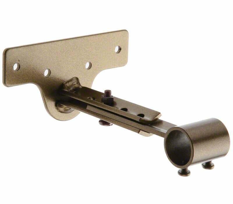 Cameron Fuller Metal Extendable Centre Bracket for 19mm Curtain Poles
