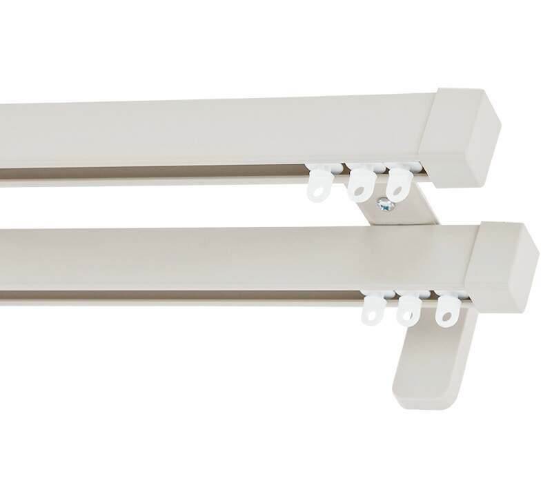 Cameron Fuller Cap System 30 Double Curtain Track (Wall Fix)