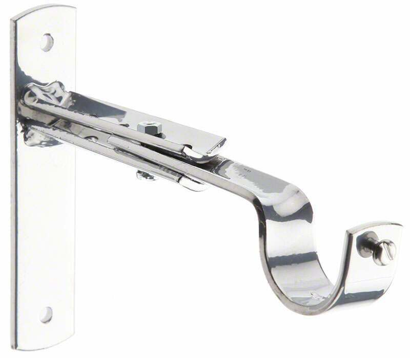 Cameron Fuller Extendable Metal End Bracket for 32mm Curtain Poles