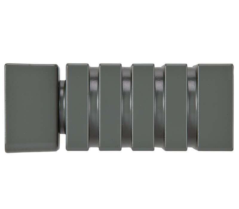 Cameron Fuller Barrel Finials for System 30 Curtain Track (Pair)