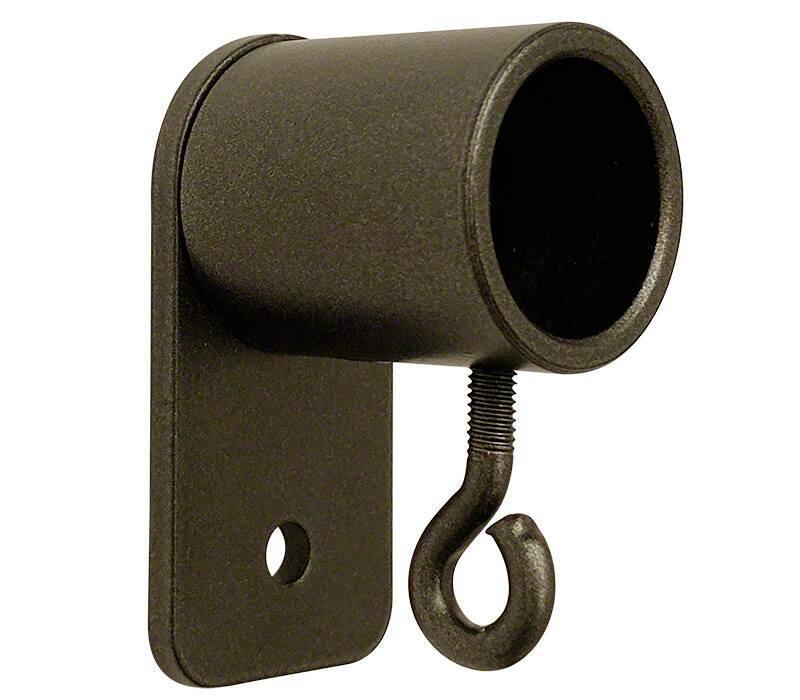 Cameron Fuller Metal Recess Bracket for 19mm Curtain Poles