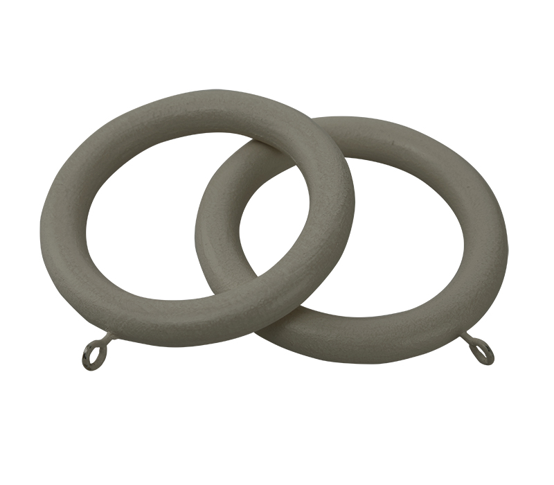 Cameron Fuller Wooden Curtain Rings for 35mm Curtain Poles (6 per pack)