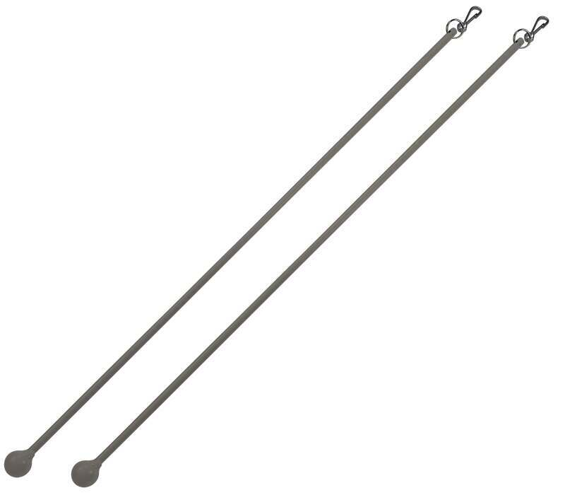 Cameron Fuller Metal Curtain Draw Rods (Pair)