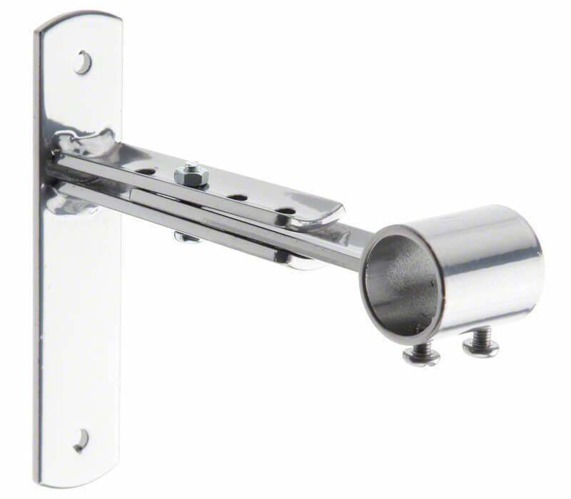 Cameron Fuller Metal Extendable End Bracket for 19mm Curtain Poles