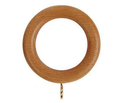 Speedy County Curtain Rings for 28mm Curtain Poles (4 per pack)