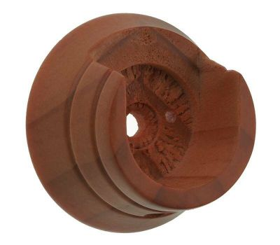 Swish Naturals Wooden Recess Brackets for 28mm Curtain Poles (pair)