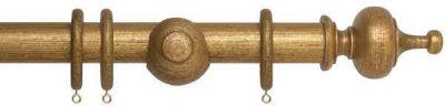 Museum Boudoir 35mm Wooden Curtain Pole
