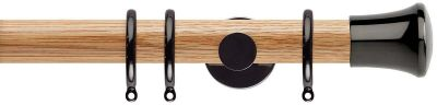 Rolls Neo Trumpet 35mm Wooden Curtain Poles