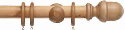 Cameron Fuller Acorn 50mm Wood Curtain Pole