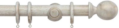 Cameron Fuller Ball 35mm Wooden Curtain Poles