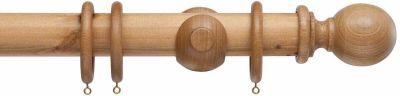 Cameron Fuller Ball 50mm Wooden Curtain Poles