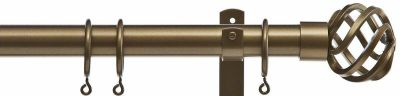 Cameron Fuller 32mm Basket Metal Curtain Pole