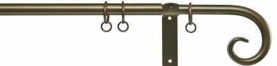 Cameron Fuller 19mm Curl Metal Curtain Pole