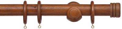 Cameron Fuller 35mm Cap Wooden Curtain Pole