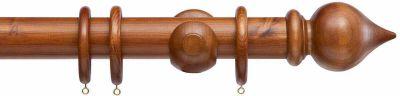 Cameron Fuller Peardop 50mm Wooden Curtain Poles