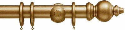 Cameron Fuller 50mm Oriental Wood Curtain Pole