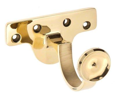 Cameron Fuller Metal Centre Bracket for 35mm Wooden Curtain Poles