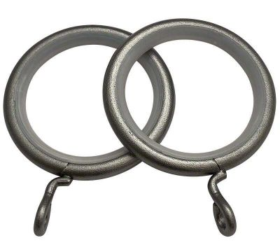 Cameron Fuller Metal Curtain Rings for 32mm Curtain Poles (6 per pack)