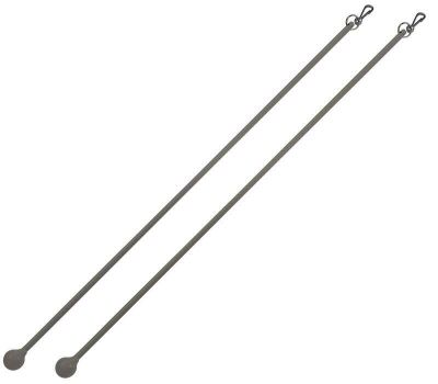 Cameron Fuller Metal Curtain Draw Rods (Pair)