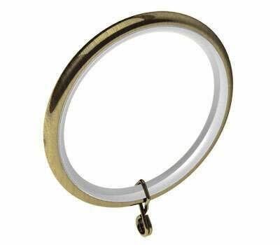 Swish Design Studio Standard Curtain Rings for 35mm Poles (4 per pack)