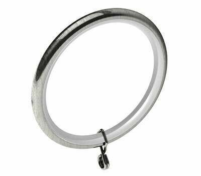 Swish Design Studio Standard Curtain Rings for 35mm Poles (4 per pack)