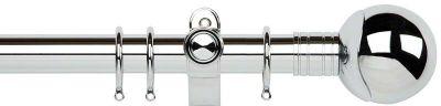Galleria Orb 35mm Metal Curtain Poles