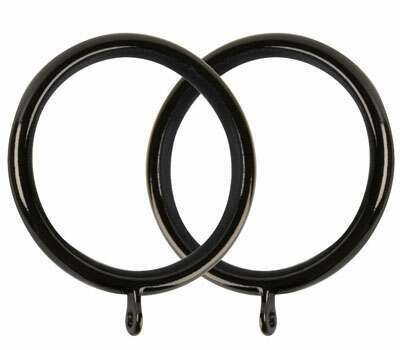 Galleria Curtain Rings for 50mm Curtain Poles (6 per pack)