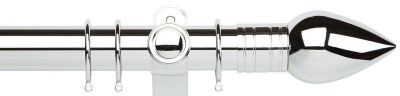 Galleria Teardrop Metal 50mm Curtain Poles