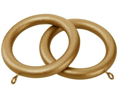 Cameron Fuller Curtain Rings for 50mm Wooden Curtain Poles (6 per pack)