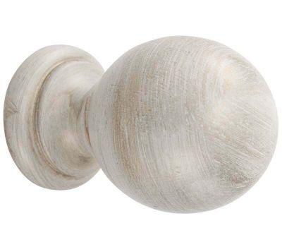 Cameron Fuller Wooden Ball Finial for 50mm Curtain Poles