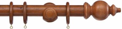 Cameron Fuller Oriental 35mm Wood Curtain Poles