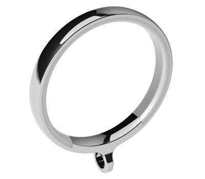 Swish Design Studio Luxury Curtain Rings for 35mm Poles (4 per pack)