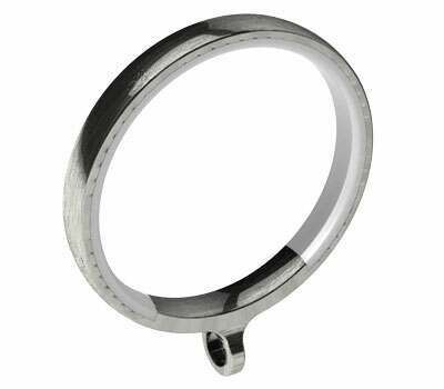 Swish Design Studio Luxury Curtain Rings for 35mm Poles (4 per pack)