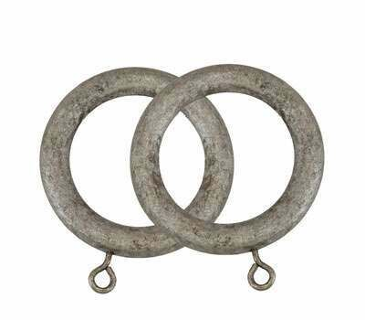 Museum Curtain Rings for 35mm Poles (4 per pack)
