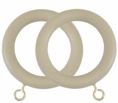 Museum Curtain Rings for 55mm Poles (4 per pack)