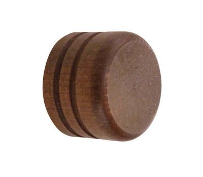 Cameron Fuller Wooden Cap Finial for 35mm Curtain Poles