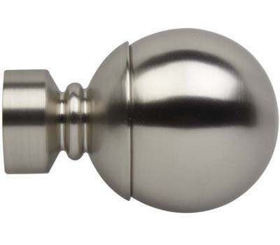 Rolls Neo Ball Finials for 35mm Curtain Poles (Pair)