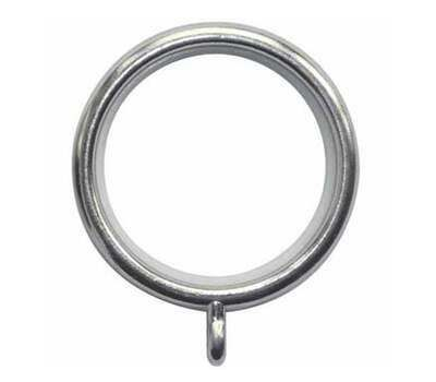 Rolls Neo Curtain Rings for 35mm Curtain Poles (6 per pack)