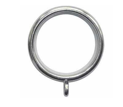 Rolls Neo Curtain Rings for 28mm Curtain Poles (6 per pack)