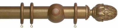 Museum Pantheon 45mm Wooden Curtain Poles