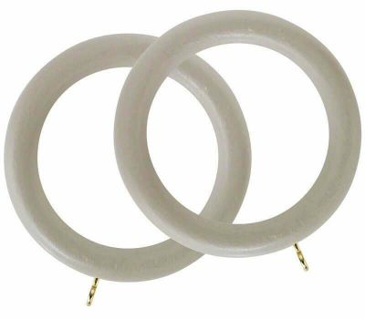 Rolls Honister Curtain Rings for 50mm Curtain Poles